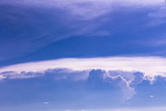Dramatic blue sky Royalty Free Stock Photography