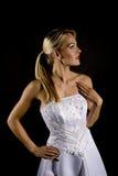 Dramatic bride Royalty Free Stock Photo