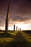 Dramatic Brodgar Stock Photo