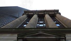 Dramatic Building Juxtaposition Royalty Free Stock Photos