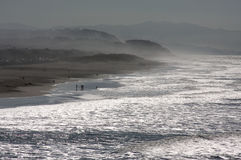 Dramatic California Shoreline Stock Photography