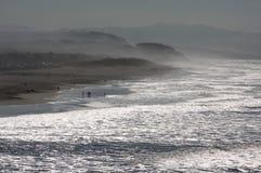 Dramatic California Shoreline Stock Photography