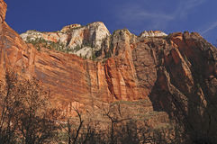 Dramatic Canyon Walls in the Southwest Royalty Free Stock Photos