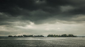 Dramatic Chiemsee Stock Images