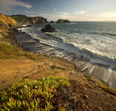 Dramatic Cliffs in Late Afternoon Royalty Free Stock Photos