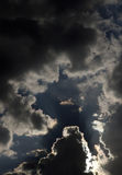 Dramatic Cloud Formation. Dark and ominous Dramatic Cloud Formation royalty free stock photo