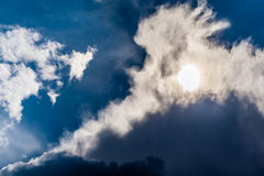 Dramatic cloud Stock Photography