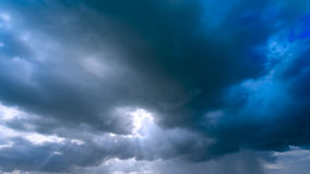 Dramatic cloud Royalty Free Stock Photo