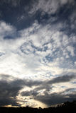Dramatic clouds Royalty Free Stock Image