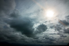 Dramatic clouds Stock Photos