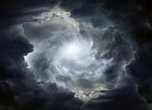Dramatic Clouds Background Stock Images