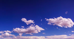 Dramatic clouds and blue sky Royalty Free Stock Image