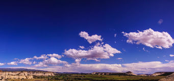 Dramatic clouds and blue sky Royalty Free Stock Images