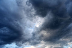 Dramatic Clouds Stock Image