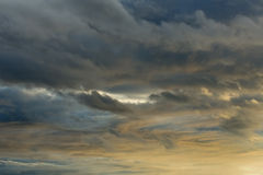 Dramatic Clouds Stock Photography