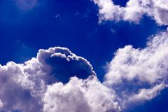 Dramatic cloudscape Royalty Free Stock Photography