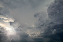 Dramatic Cloudscape Background Royalty Free Stock Photos