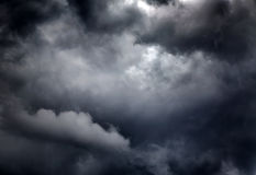 Dramatic Cloudscape Background Stock Image