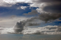 Dramatic cloudscape background Stock Photo