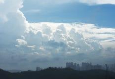 Dramatic cloudscape Stock Image