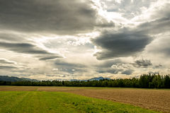Dramatic cloudscape Royalty Free Stock Image