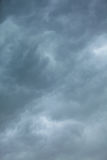 Dramatic cloudscape. Stormy clouds on the sky. Royalty Free Stock Photo