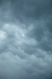Dramatic cloudscape. Stormy clouds on the sky. Royalty Free Stock Images