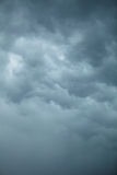 Dramatic cloudscape. Stormy clouds on the sky. Stock Photography
