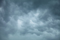 Dramatic cloudscape. Stormy clouds on the sky. Royalty Free Stock Image