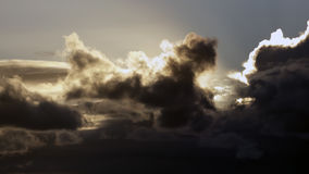 Dramatic cloudscape at sunset Royalty Free Stock Photo