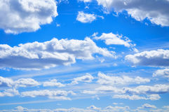 Dramatic cloudy sky clouds - natural sky background Royalty Free Stock Photography