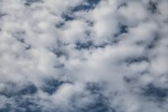 A dramatic cloudy sky stock image