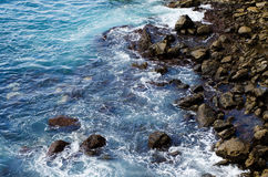 Dramatic coast, Grand canaria stock image