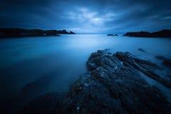 Dramatic coastal sunset Royalty Free Stock Photos