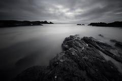 Dramatic coastal sunset Royalty Free Stock Image