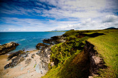Dramatic coastline Stock Photos