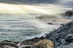 Dramatic coastline Royalty Free Stock Photos