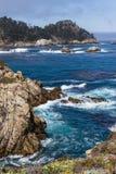 Dramatic coastline Stock Image