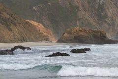 Dramatic coastline Royalty Free Stock Photo