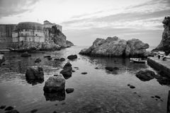 Dramatic Coastline Dubrovnik Croatia Stock Image