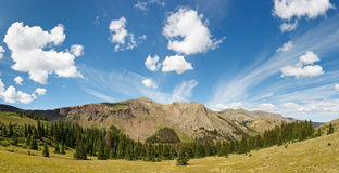 Dramatic Colorado Cloudscape Royalty Free Stock Photo