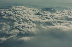 Dramatic Corfu Skies, overcast Stock Image