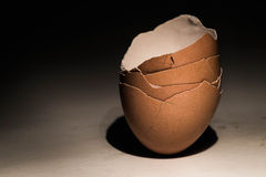 Dramatic cracked eggs Royalty Free Stock Photo