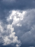 Dramatic cumulus clouds Royalty Free Stock Images