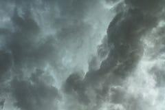 Dramatic dark clouds Stock Image