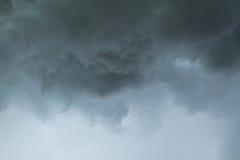 Dramatic dark clouds Royalty Free Stock Image