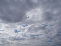 Dramatic dark cloudy sky royalty free stock images