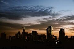 Dramatic dark sky Royalty Free Stock Photo