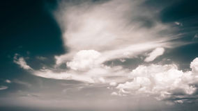 Dramatic day sky Royalty Free Stock Photo