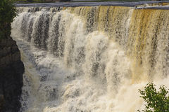Dramatic Falls in the North Woods Stock Photography